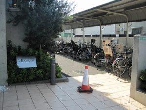 大泉学園 レンタルスタジオ 自転車置き場 駐輪場
