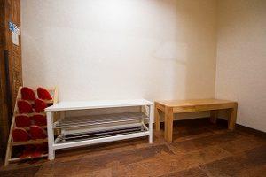 大泉学園 レンタルスタジオ は嬉しい 待合スペース があります。