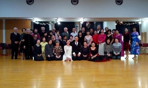 社交ダンス 介護予防ダンス ストレッチ 大泉学園