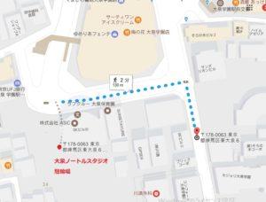 大泉学園 レンタルスタジオ 自転車置き場 駐輪場 があります