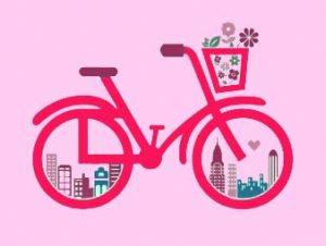 自転車,駐輪所